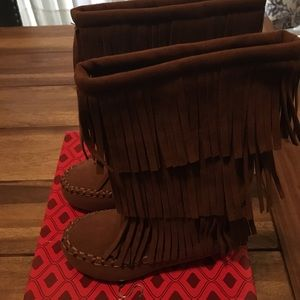 Other - Fringed boots